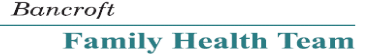 Bancroft Family Health Team logo